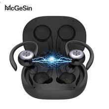 McGeSin Sport Headphone Bluetooth V5.0 Wireless Earphones Running Earbuds Ear Ho