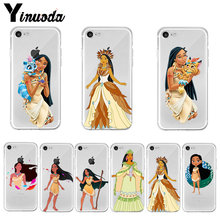 Yinuoda Pocahontas Prinses Hot Cool Telefoon Accessoires Case Voor Iphone X Xs Max 6 6 S 7 7 Plus 8 8Plus 5 5S Se Xr 11 Pro Max(China)
