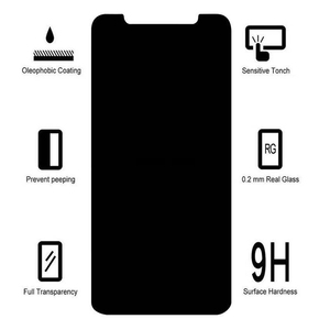 Image 4 - Privacy Screen Protectors for Apple IPhone 7 8 6 6s Plus 9H HD for IPhone 11 12 Pro Max XR XS Max SE2020 Anti Spy Tempered Glass