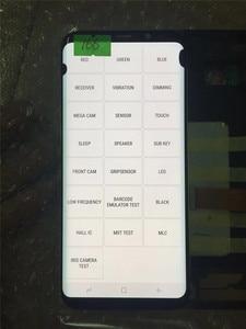 Image 5 - מקורי AMOLED עם מסגרת לסמסונג גלקסי S8 + בתוספת G955A G955U G955F G955V LCD תצוגת מסך מגע הרכבה עם נקודות
