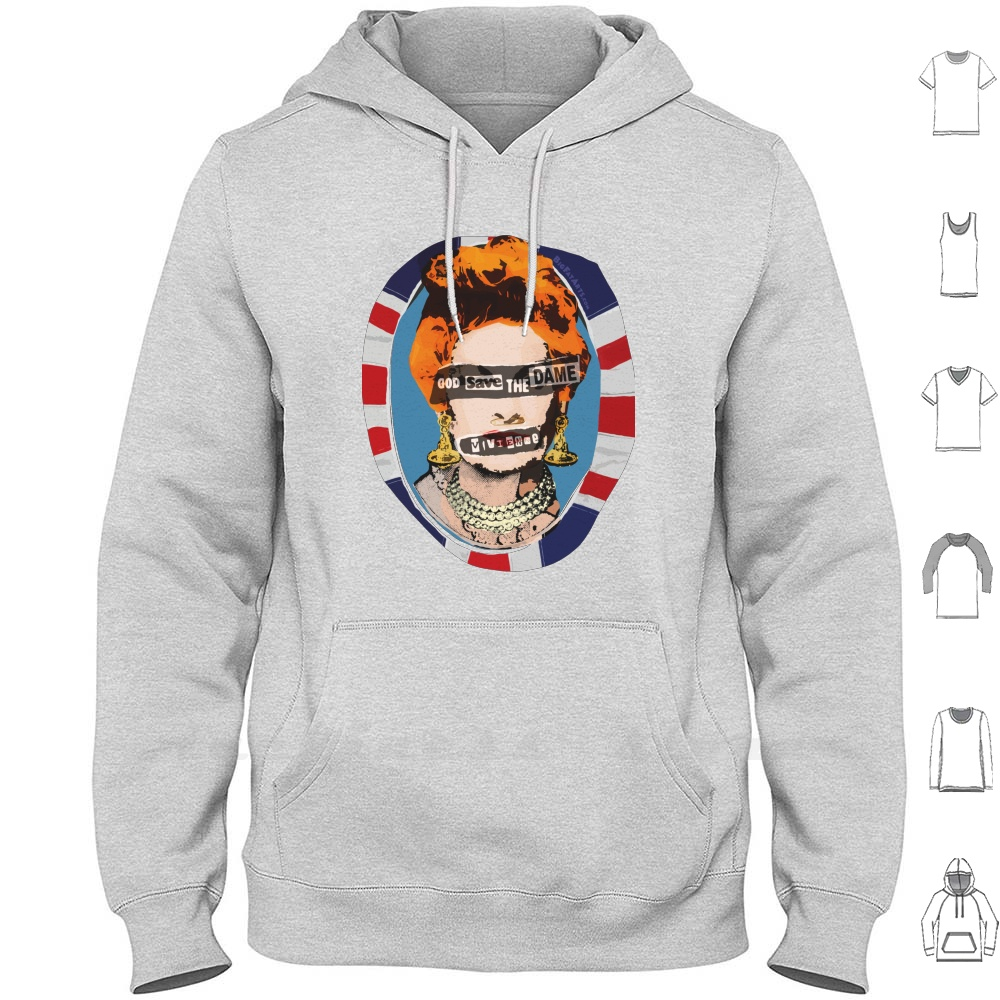 God Save The Dame Long Sleeve Dame Vivienne Isabel Westwood British Fashion Designer Businesswoman Modern Punk New T Shirts Aliexpress