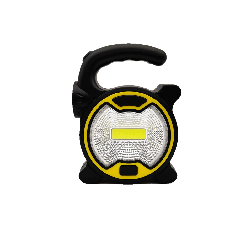 MingRay AA Battery Portable Spotlight 1W LED And 3W COB Work Lamp Mini Powerful Handle Lantern Camping Fishing Cheap Price