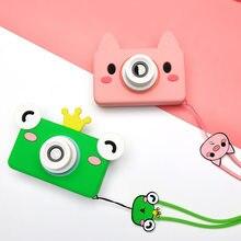 Niños juguetes niños cámara Digital 32 GB tarjeta de memoria incluida dibujos animados animales juguetes educativos para niños regalo de cumpleaños