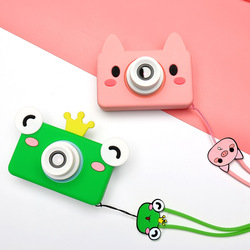 Kids Toys Children Digital Camera 32GB Memory Card Included Cartoon Animals Educational Toys For Children Birthday Gift