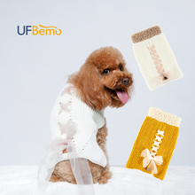 UFBemo Dog Sweater Cat Pull Chien Clothes Pullover Stretched Warm Puppy Sweaters Turtleneck for Small Large Dogs Chihuahua Teddy