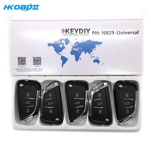 HKOBDII KEYDIY Original KD NB29 NB Serie Universal Multi funktion Für KD900/MINI KD Schlüssel Programmierer NB Serie fernbedienungen