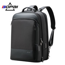 Casual Backpack Computer-Bag Detachable Travel Usb-Anti-Theft BOPAI Business Men Flip