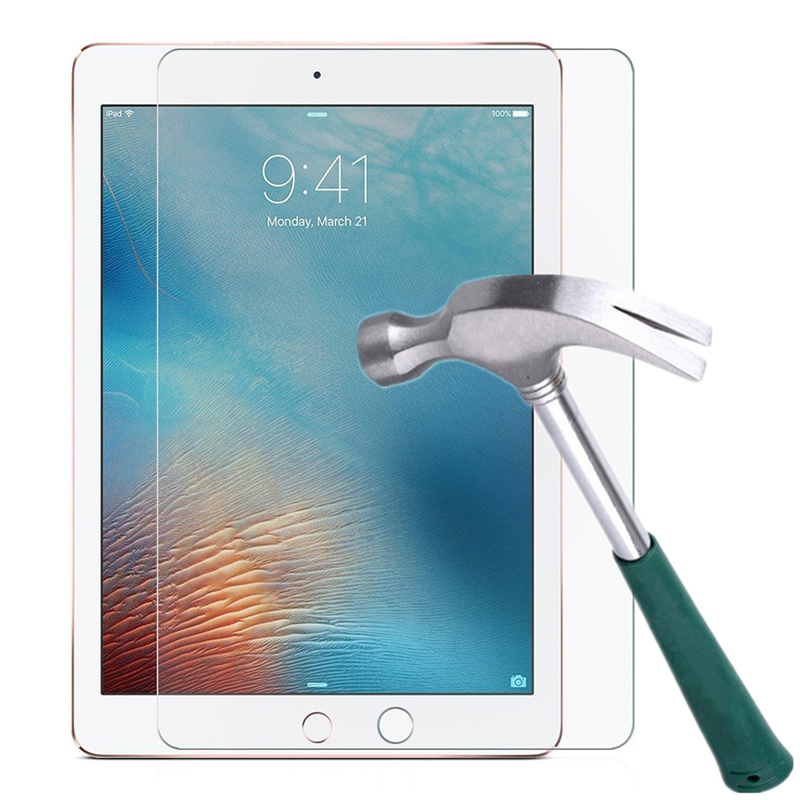 Tempered Glass Film Screen Protector For IPad 2018 2017 6th 5th Generation Air 1 2 9.7 2 3 4 5 6 Pro 10.5 11 Mini 1 2 3 4 5 7.9