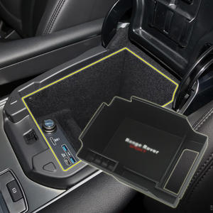 1 Set Scatola Accessori Scatola Auto Scatola Vetro Scatola Porta Occhiali/// per Land Rover Freelander Range Rover Discovery 3//4 Car Styling