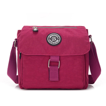 Woman Waterproof Nylon Shoulder Bag  Female Crossbody Ladies Bolsa Portable Travel Messenger Womens 2019
