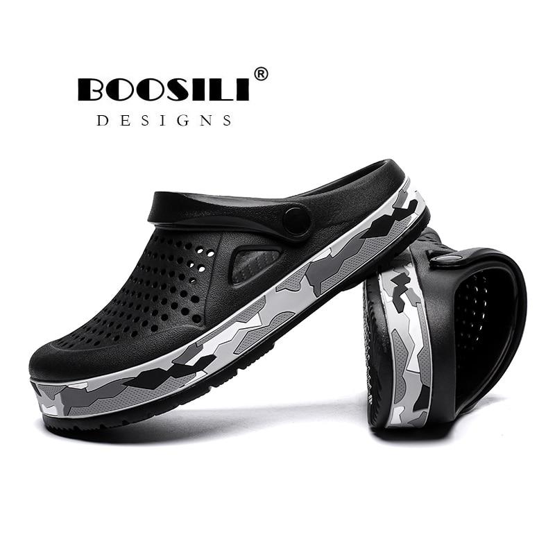 Image 5 - Sapato Feminino جديد رجل إيفا صندل عالية الجودة الرجال حذاء للحديقة الصيف الصنادل تنفس قباقيب خفيفة الوزن حجم كبير 45صنادل رجاليةأحذية -
