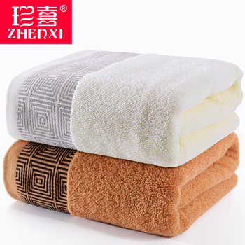 Adult Luxury High Quality Bath Towel 2 Trip Cotton Simple Quick Drying Towels Toalla Ducha Large Size Fast Dry Towel FF60T60