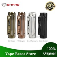 120W Ehpro Cold Steel 100 Box MOD w/ 0.0018S Ultrafast Firing Speed Power by 18650/20700/21700 battery vs Drag 2 Mod/ Punk 86W