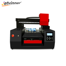Jetvinner Advance Automatic A3 Size LED UV Flatbed Printer 12 Color Inkjet Printers with Double Print