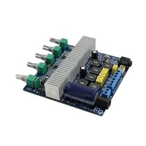 Image 5 - لوسيا بلوتوث 5.0 TPA3116D2 جهاز تضخيم الصوت مجلس 2.1 قناة عالية الطاقة 2*50 واط + 100 واط مكبر الصوت DC12V 24V D3 001