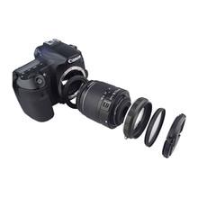 カメラマクロレンズリバーセットキヤノン Eos 70D 80D 700D 750D 800D 1200D 100D 200D 5D2 5DIII 5DIV 6D マーク II 77D 7D デジタル一眼レフ