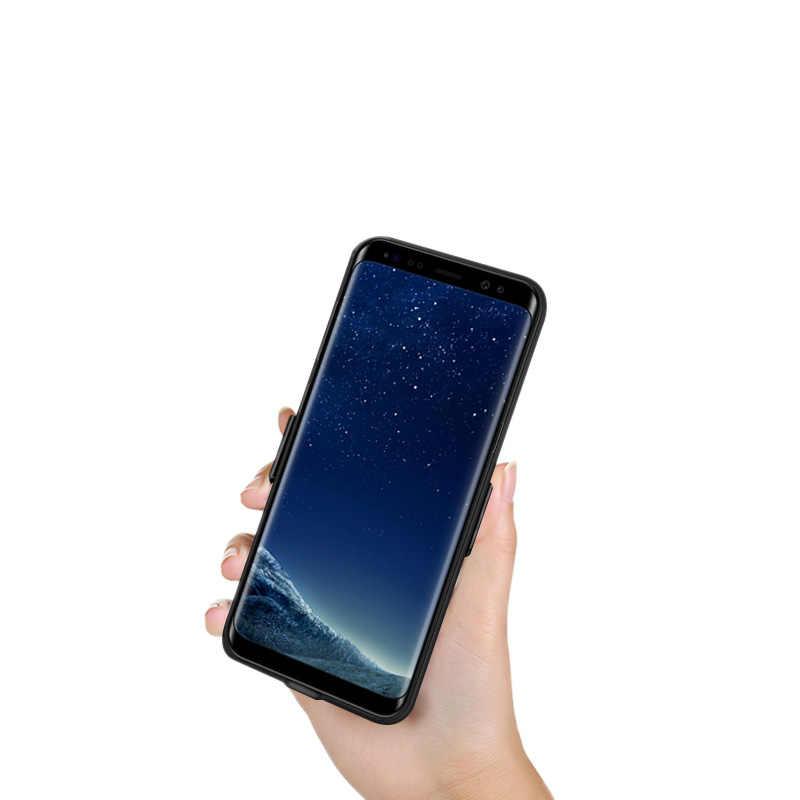 Etui z funkcją ładowania baterii do Samsung Galaxy S8 S9 Plus A8 Plus obudowa ładowarki opakowanie zapasowe etui na powerbank do S 8 S 9 A 8