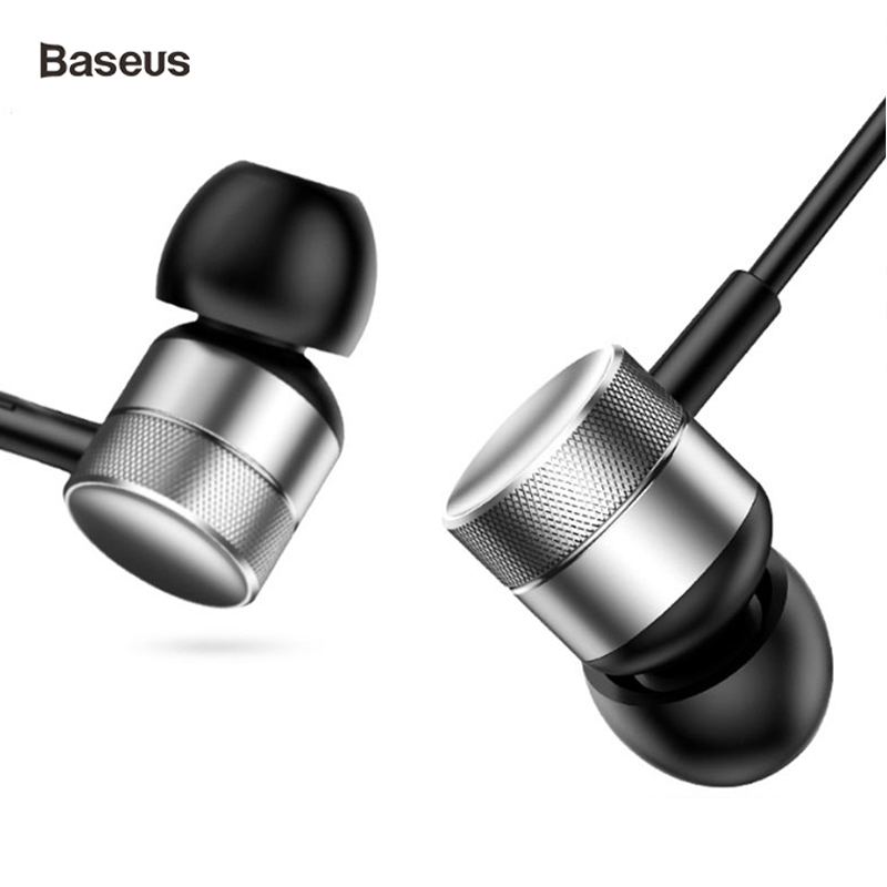 Beaseus Wired Bass Sound Earphone for Phone In-Ear Stereo Sound Headset Earphone High quality for xiaomi iPhone Samsung Earpiece image