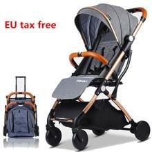 Baby Stroller Children Pram Plane USA AU RU EU tax FREE