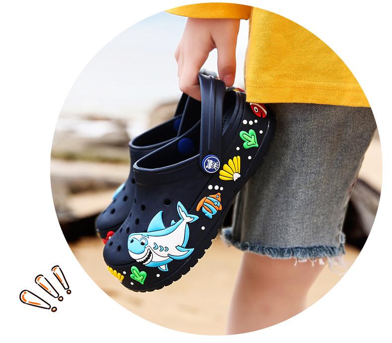 2017 New fashion children garden shoes children cartoon sandal babies summer slippers high quality kids garden children sandals (18)