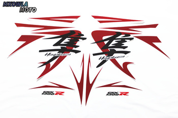 XSB1308-2 For Suzuki HayabusaGSX1300R  08years Motorcycle Fuel Tank Sticker Warning Label Full 3M car sticker