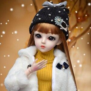 60 см BJD SD кукла 1/3 модные игрушки для девочек с полным комплектом Ручной работы 18 шарнирных кукол детская нарядная игрушка Подарки для детей
