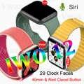 2019 IWO 12 Montre Intelligente Série 5 IWO12 Smartwatch pour Apple iPhone IOS Android 40mm Moniteur de FRÉQUENCE Cardiaque ECG PK iwo 11 8 plus 9 10