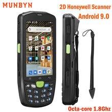 Ручной android 90 прочный pda 2d сканер штрих кодов 4g wifi