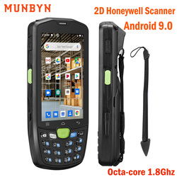 Handheld Android 9.0 Rugged PDA 2D Barcodes Scanner 4G WiFi PDA POS Termimal Bar codes Reader Data Collector 2 Years Warranty