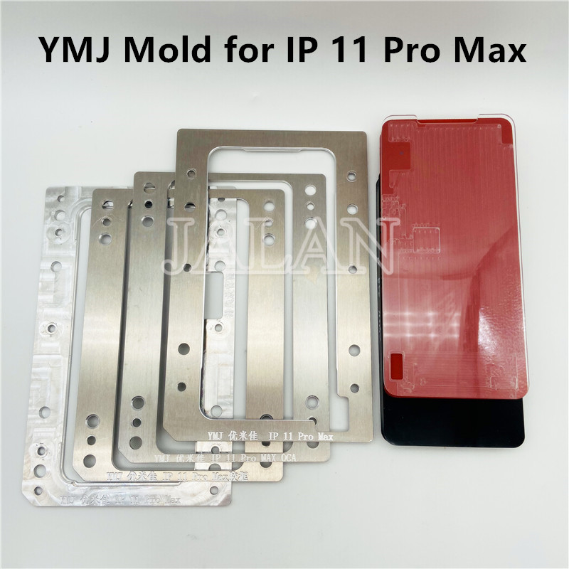 YMJ Mold 11 Pro Max Laminating Mould 11promax Glass OCA Digitizer Display LCD Touch Screen Laminating Repair