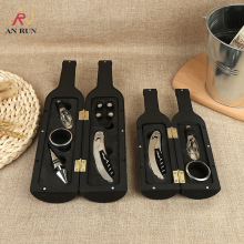 Multi Function Wine Bottle Opener Set Stainless Steel Gift Shape Red Zinc Alloy Kitchen Tools