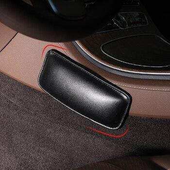Coche cojín muslo soporte de rodilla Interior Universal accesorios suave para Benz Toyota Ford Audi VW Nissan Lada Skoda Opel Volvo