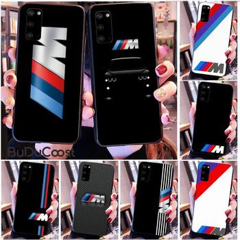 Diseny Top car BMW Phone Case for Samsung S20 plus Ultra S6 S7 edge S8 S9 plus S10 5G image