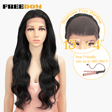 FREEDOM Supreme Free Parting Synthetic Lace Front Wigs Ombre
