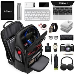 Image 5 - Fenruien Fashion Business Large Capacity Laptop Backpack Men Multi Function USB Charging Travel Backpack School Bag for Teenager