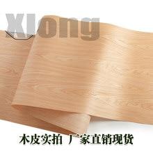 L:2.5Meters Width:600mm Thickness:0.2mm Cherry Veneer Super Wide Veneer Speaker Thin Veneer Wood Door Veneer Furniture Veneer