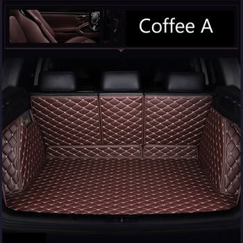 Custom fit car trunk mats for Mazda CX-5 CX5 6D all weather protection heavy duty car-styling carpet rugs floor liners(2013-)