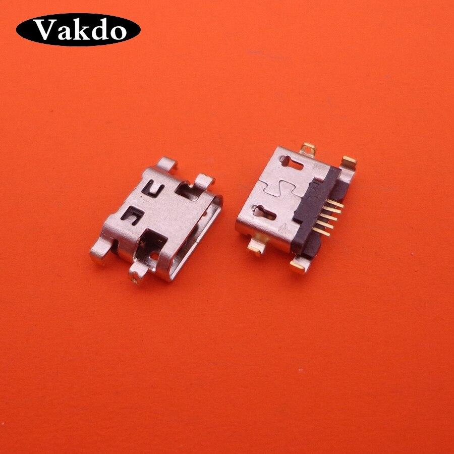 50pcs/lot For Alcatel 6035R Idol S 4033 4033D POP C3 C7 7041D Micro Usb Charge Charging Jack Connector Plug Dock Socket Port
