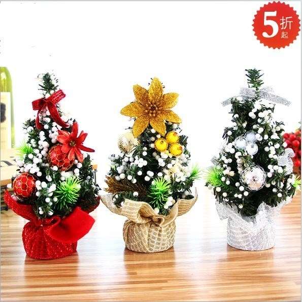 Gift Tree 20 Cm Christmas Tree Gift Christmas Ornaments Desktop Ornaments Table Furnishings To Send His Girlfriend