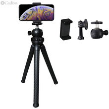 Cadiso נייד מיני חצובה סטנד עכביש גמיש תמנון חצובה Gorillapod עבור iPhone GoPro Canon Nikon Sony המצלמה שולחן שולחן