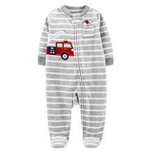 Детские комбинезоны детские для новорожденных флисовые одежда