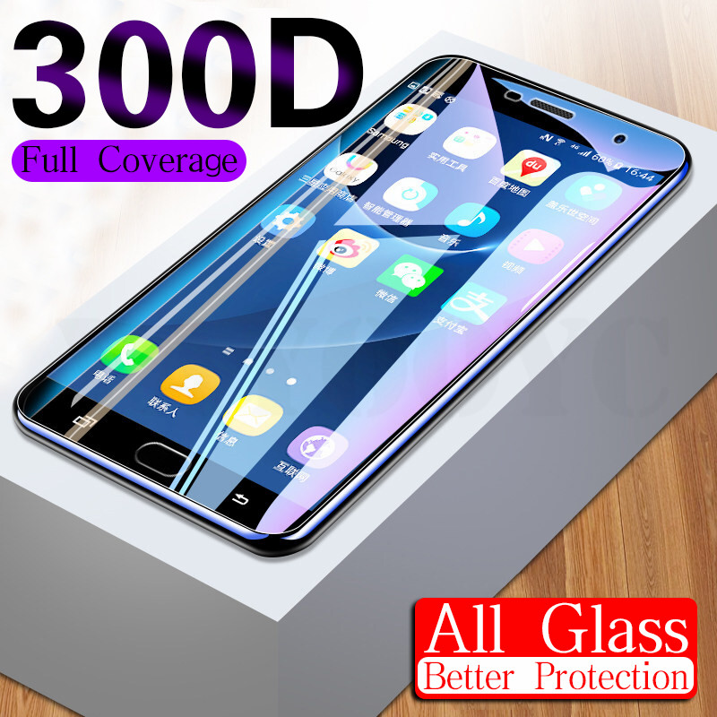 <font><b>300D</b></font> Protective Glass On The For Samsung Galaxy A3 A5 A7 J3 J5 J7 2016 2017 S7 Tempered Screen Protector Glass Protection Film image