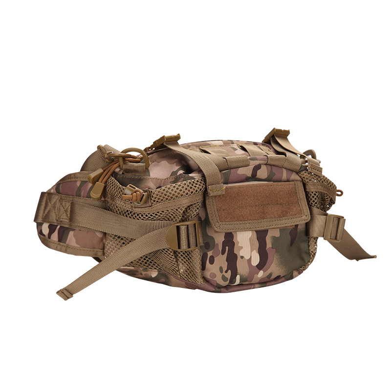 Molle Tactical Waist Belt Bag Waist Pack Pouch Military Camo Army Outdoor Sports Camping Hiking Treking Running Cycing Bags