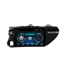 цена на 10.1 inch 2.5D  Android 8.1 Navigation GPS Multimedia Player for TOYOTA HILUX 2016 2017 2018