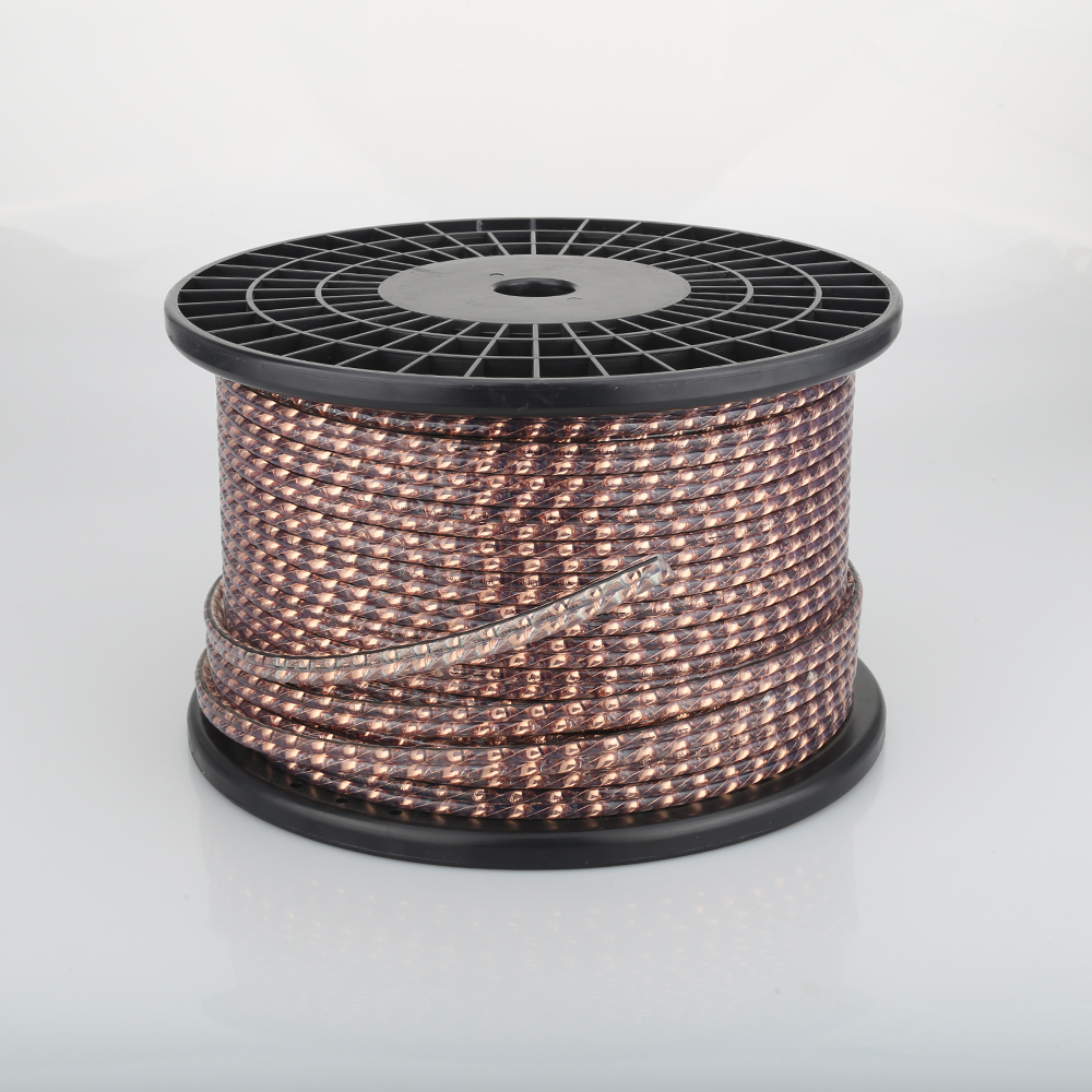Viborg VS903 DYNAMIC PERFORMANCE Series 17AWG Twist Solid Flat Copper Speaker Cable Surround Speaker Cable Wall Speaker Cable