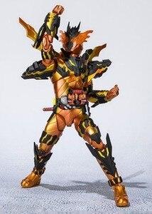 Image 4 - SHF רעול פנים קאמן רוכב צלב Z מאגמה Ver. BJD פעולה איור דגם צעצועים