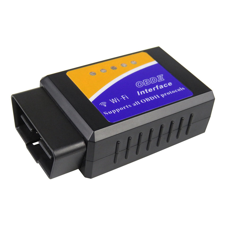 OBD2 WIFI ELM327 V1.5 Diagnostic Scanner for iOS Android ELM 327 V <font><b>1.5</b></font> OBD <font><b>2</b></font> Car Code Reader Tool Without <font><b>PIC18F25K80</b></font> Chip image