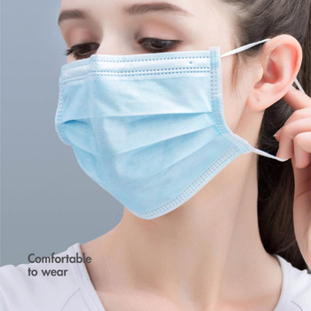 10Pcs/lot Non-woven 3 Layer Disposable Face Mask Dust Filter Safety Mask Anti-Dust Breathable Proof Flu Ear loop Mouth Mask