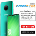 DOOGEE X95 Android 10 4G-LTE Handys 6.52