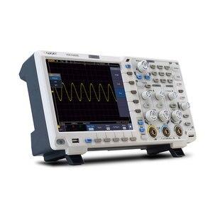 Image 2 - Owon XDS3202E Digitale Opslag Oscilloscoop Draagbare 2 Kanalen 200Mhz Bandbreedte 8 Inch Usb Oscilloscopen Kits